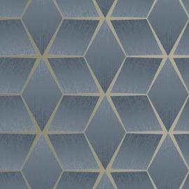 3D Geometric Textured Wallpaper