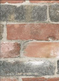 Fine Décor Reclaimed Brick Red Sample