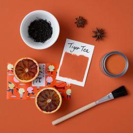 Rust-Oleum Chalky Finish Wall Paint - Tiger Tea 2.5L