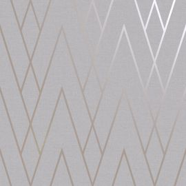 Duo Chevron DCO Exclusive Wallpaper Champagne