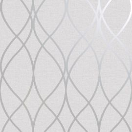 Duo Wave DCO Exclusive Wallpaper Grey