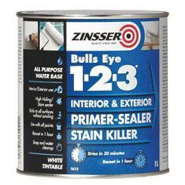 Zinsser Bullseye 1-2-3 1L White