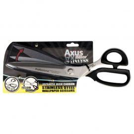 "Axus Japanese Stainless Steel Wallpaper Scissors / 12"""
