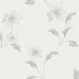 Holden Opus Floriana Floral Wallpaper Dove