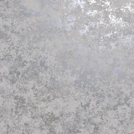 Obsidian Industrial Wallpaper Grey/Silver