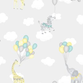 Animal Balloons Wallpaper