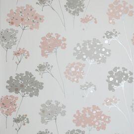 Anya Floral Wallpaper Blush