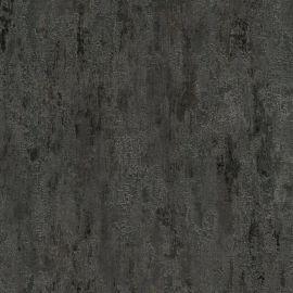 Havanna Industrial Texture Metallic Wallpaper Charcoal