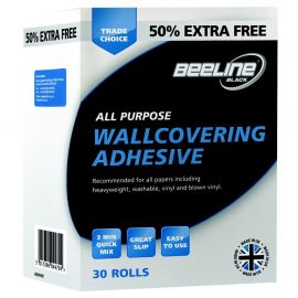 Beeline All Purpose Wallpaper Adhesive 5 Roll Packet