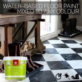 Tikkurila Betolux Akva Water-Based Floor Paint - Colour Match