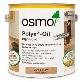 Osmo Interior Polyx Oil (High Solid)-2.5L-Transparent-Raw
