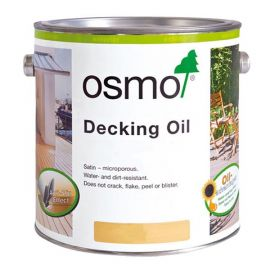 Osmo Decking Oil Teak Oil Clear 2.5L