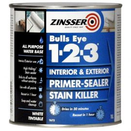 Zinsser Bulls Eye 1-2-3 Interior & Exterior Primer-Sealer Stain Killer