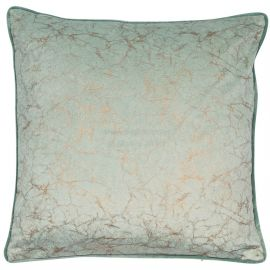 Malini Crackle Mint Cushion