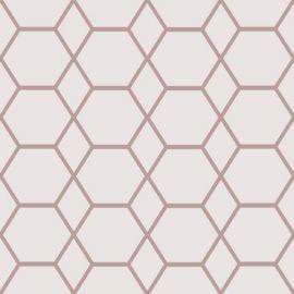 Casca Geometric Hex Wallpaper