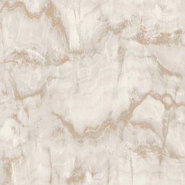 Crown Aura Marble Design Wallpaper - Gold