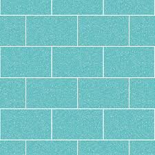London Tile Glitter Wallpaper Aqua