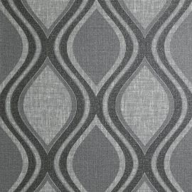 Curve Country Wallpaper Charcoal
