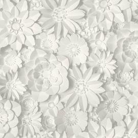 Dimensions Floral 3D Wallpaper