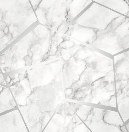 Marble Fractal Metallic Wallpaper