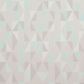 Geometric Triangle Tile Grey