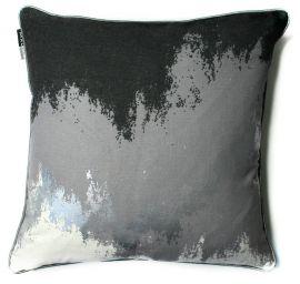 Malini Glimmer Silver Cushion