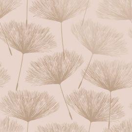 Glistening Fleur Wallpaper - Blush Pink