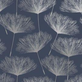 Glistening Fleur Wallpaper