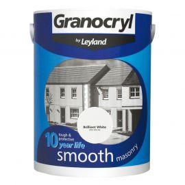 Leyland Granocryl Smooth Masonry Brilliant White 2.5L