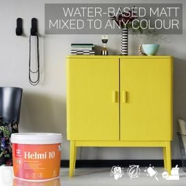 Tikkurila Helmi 10 Water-Based Matt for Woodwork - Colour Match