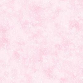 Iridescent Glitter Star Wallpaper Pink