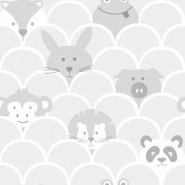 Peek a Boo Children's Wallpaper