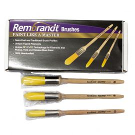 Arroworthy Rembrandt Round Cut Sash Brush