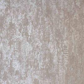 Industrial Texture Metallic Wallpaper Silver