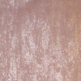 Industrial Texture Metallic Wallpaper Blush