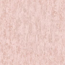 Industrial Texture Metallic Wallpaper Blush