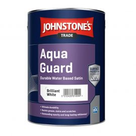 Johnstone's Trade Aqua Guard Satin - Brilliant White