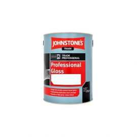 Johnstone's Trade Professional Gloss - Colour Match