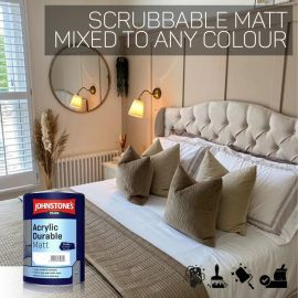 Johnstones Trade Acrylic Durable Matt - Colour Match