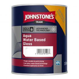 Johnstone's Trade Water Based Aqua Gloss Paint