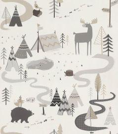 Kids Adventure Trail Wallpaper Natural