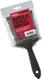 """ProDec Shed and Fence Brush 4"""" PBWD001"""