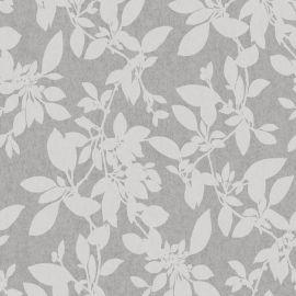 Linden Floral Sparkle Wallpaper Grey
