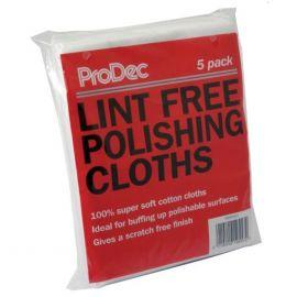 ProDec Lint Free Polishing Cloths 5 pack