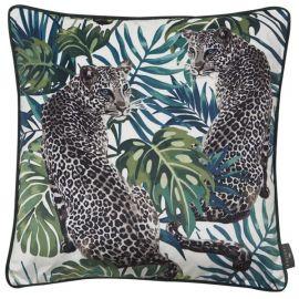 Malini Juniper Leopard Love Cushion