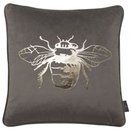Malini Juniper Honey Bee Foil Cushion