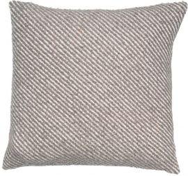 Malini Diag Grey Cushion
