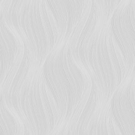 Orla Wave Glitter Wallpaper Grey