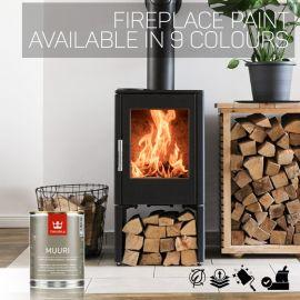 Tikkurila Muuri Fireplace Paint