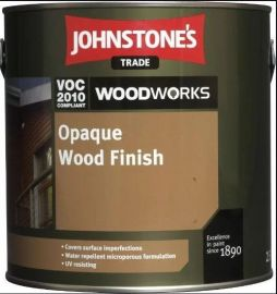Johnstone's Trade Opaque Wood Finish (Solvent Based) - Colour Match